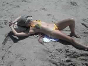 More beach time
