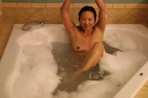 Evil Twin bathtub playtime