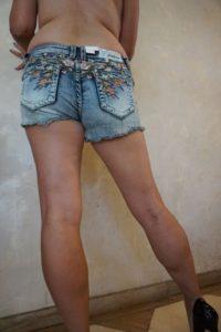 Jean shorts 8