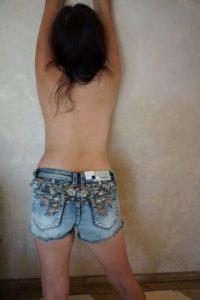 Jean shorts 9